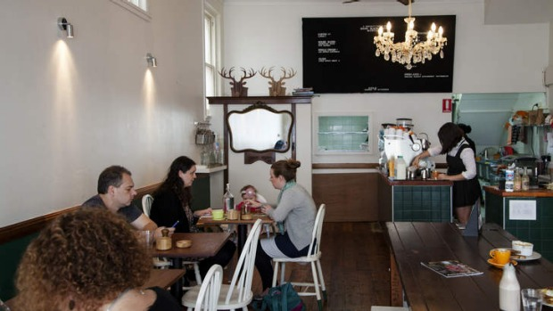 Short Black Panther: a Mortdale cafe with an elegant, unfussy feel to its interior.