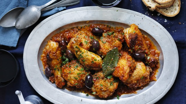 Neil Perry's chicken cacciatore.