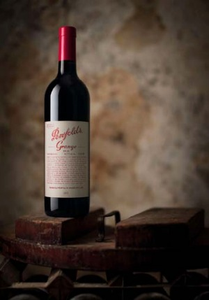 The Penfolds Grange 2009 vintage.