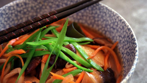 Sweet and sour soup.