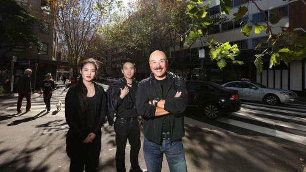 New digs: Chinta Ria's Simon Goh (right) will open Chinta Always in Potts Point.