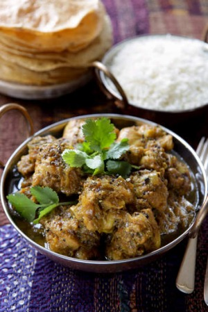 Peppery chicken curry recipe good food peppery chicken curry forumfinder Gallery