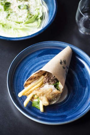 New empire: Greek street food is on the up.