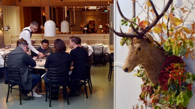 Seasonal: Prix Fixe's current theme is an 'ode to autumn'.