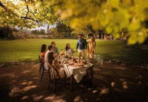 Scene of Poachers Pantry from a video for a new tourism campaign called <i>Restaurant Australia</i>.