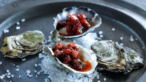 Oysters are actually at their best in autumn and winter, so serve them hot!