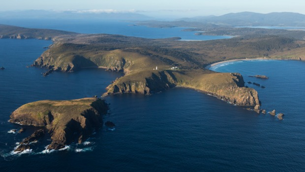 Seafood bounty: Tasmania's picturesque Bruny Island.