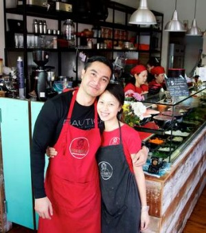 Michael and Mai Le, the owners of Great Aunty Three.