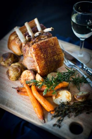A roast to share at Centennial Parklands Dining.