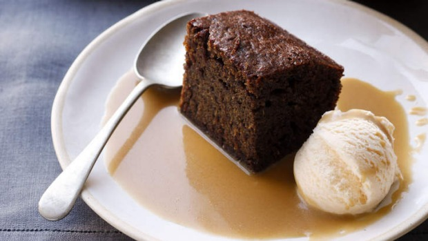 Is there anything so sweet as a sticky date pudding to end your meal?