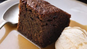 Sticky date pudding.