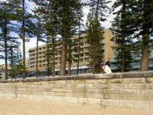 Venture: Fraser Short has struck a deal with the Manly Pacific hotel.