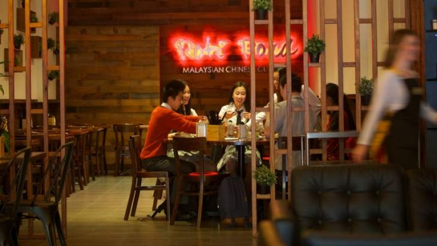 Roti Road's interior is almost cafe-like.