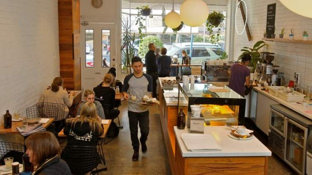 A Saint in Bomberland: St Rose cafe has been flat out since it opened.
