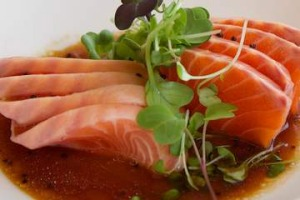Go-to dish: Petuna ocean trout with mirin and wasabi