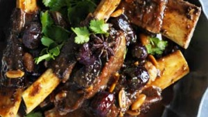 Neil Perry's Chinese-style ribs.