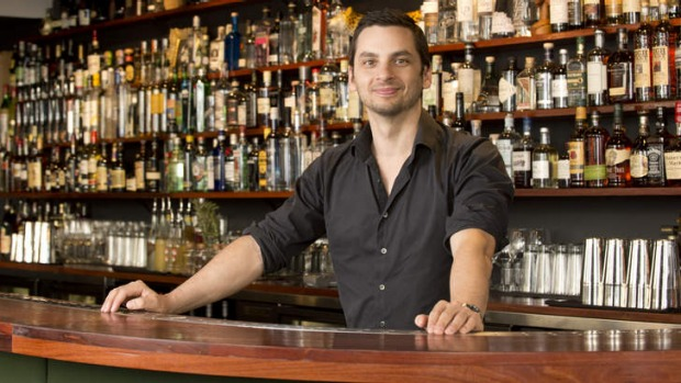 Matthew Hilan's bar boasts almost 80 different gins, some of which he imports directly.