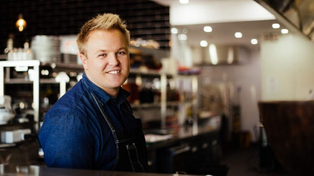 New role: Ehren Ryan has been appointed head chef at Conrad Piggins.