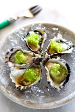 Try this pairing ... Vodka and oysters.