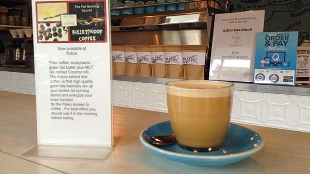 Milk-free ... Ruby's Diner serves up a paleo butter coffee for $8.