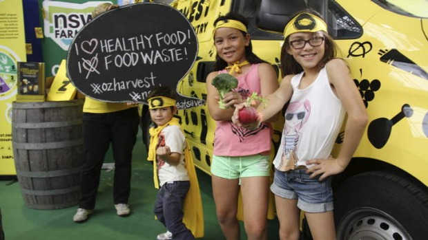 Family entertainment: OzHarvest will host Kiducation and mini market adventures.
