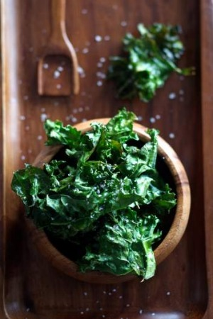 The age of kale: Kale chips are powerhouses of nutrients and vitamins.