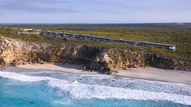 Kangaroo Island's much-lauded Southern Ocean Lodge.