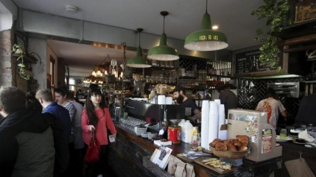 Cosy and busy: Bootsdarling in Darlinghurst.