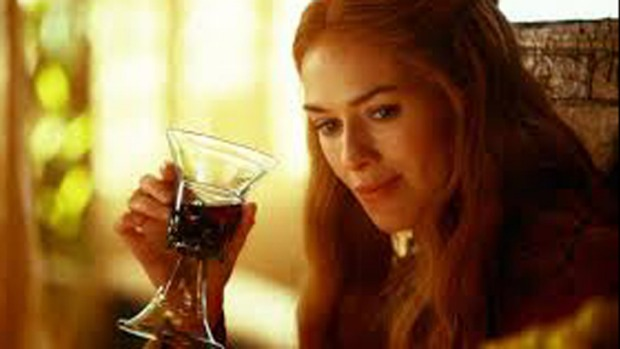 Don't mind if I do: Lena Headey as Cersei Lannister in <i>Game of Thrones</i>.