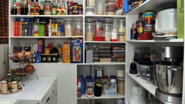 """My wife had the pantry redone while I was on MasterChef."""