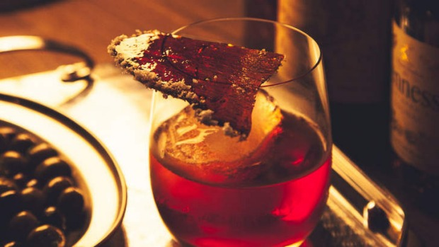 Thrilling balance: The negroni has a super-cool backstory.