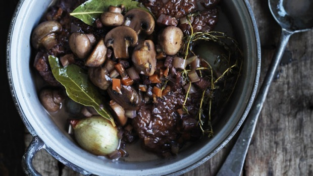 Coq au vin: Serve with some creamy mashed potato.
