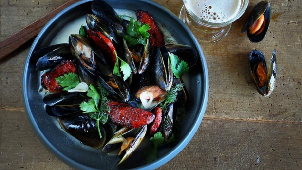Flavour-boost: Cook your seafood in your favourite ale.