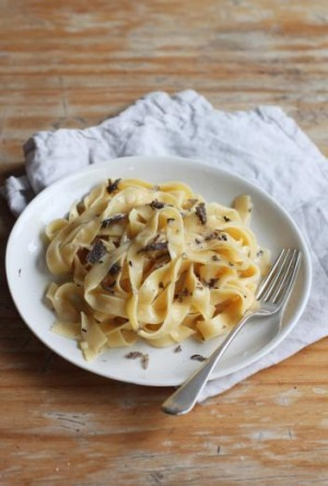 Dressed for success: Truffle pasta is a dish to savour.
