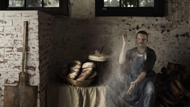 Done and dusted: Mike McEnearney makes no-nonsense, pillowy sourdough.