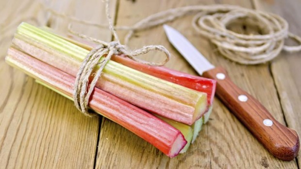 Again and again: Plants such as rhubarb can be carefully cut, divided and replanted.