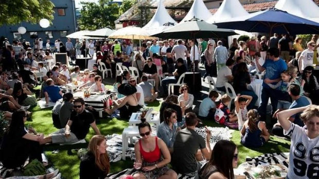 Festive vibe: The good food continues at The James Street Food and Wine Trail.