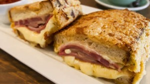 MELBOURNE, AUSTRALIA - JULY 24:  The croque monsieur served at Lolo & Wren in Brunswick West on July 24, 2014 in ...