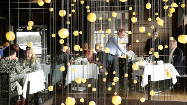 Anniversary: Flying Fish is still one of Sydney's glitziest restaurants.