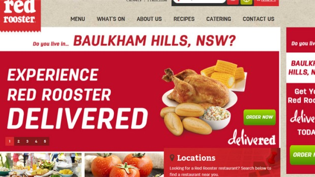 Red Rooster has begun home delivey in Sydney's outer north-west.