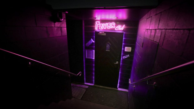 "The ""dark, underground disco"" is downstairs from Damian Griffith's Alfred & Constance."