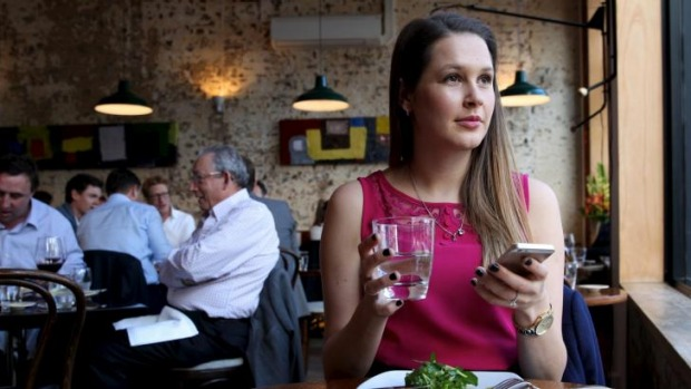 Going it alone: Chiswick accountant Claire Press at 4Fourteen in Surry Hills.