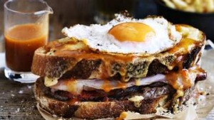 Adam Liaw's Francesinha. <b>Photo:</b>William Meppem.