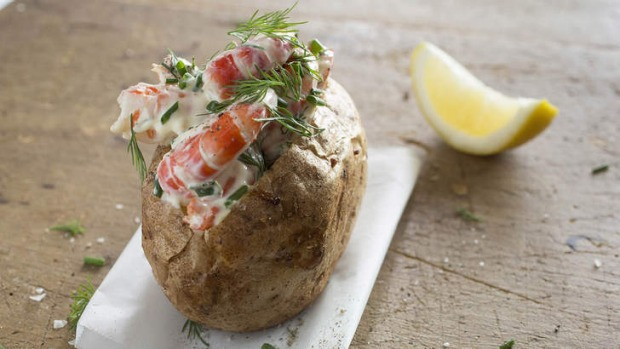 Steamier than ever: Baked potatoes are turning up on fine-dining menus.