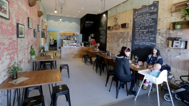 Clever blend: Wild Timor Coffee is a cosy hangout.