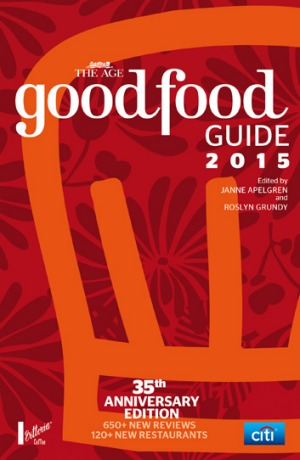 The Age Good Food Guide 2015.