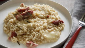 Smoked ham hock and taleggio risotto. Recipe by Karen Martini. To be used for upcoming recipe pages for Epicure/Good ...