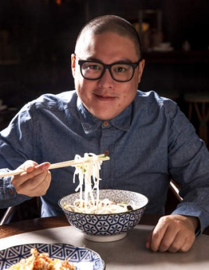 Dan Hong opts for an Asian-themed menu.