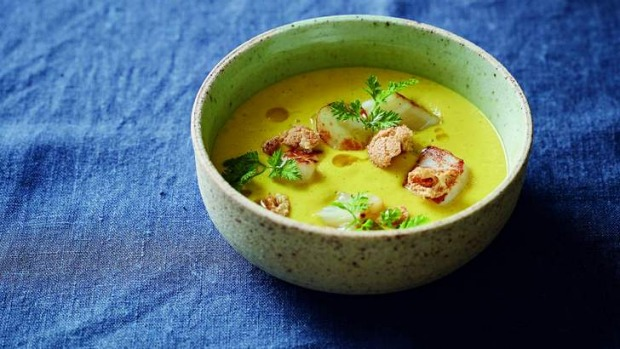Philippa Sibley's carrot and chervil soup, from her cookbook, New Classics.
