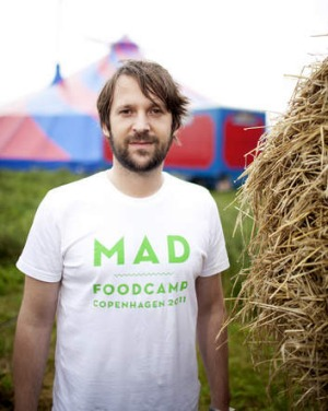 Noma chef and MAD founder Rene Redzepi inspired Shewry.
